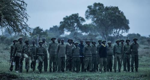 Training exercises for the Mugie security team
