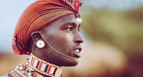 Young Samburu warrior