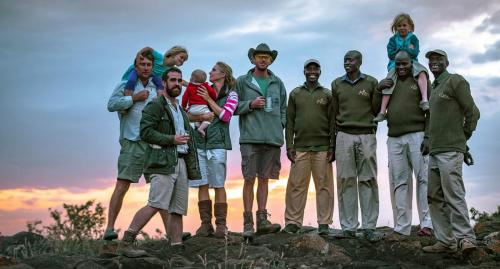 Sundowners 'on the rocks' with Ekorian's Mugie Camp