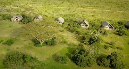 Aerial view of Ekorian's Mugie Camp