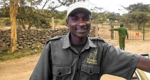 Ekorian's Mugie Camp guide, Patrick
