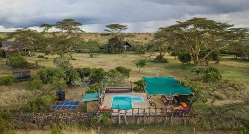 Ekorian's Mugie Camp swimming pool